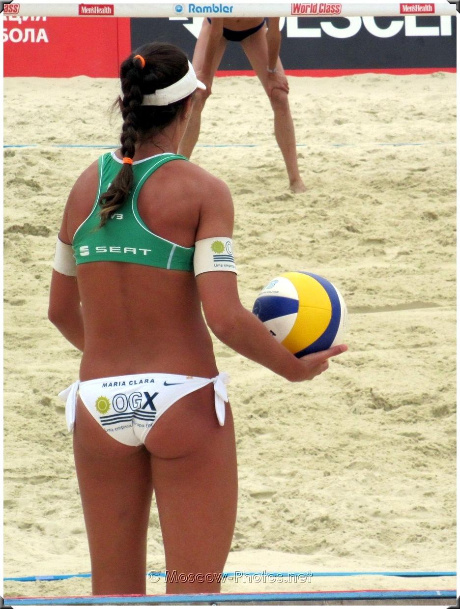 Brazil Beach Volley Players Maria Clara Salgado