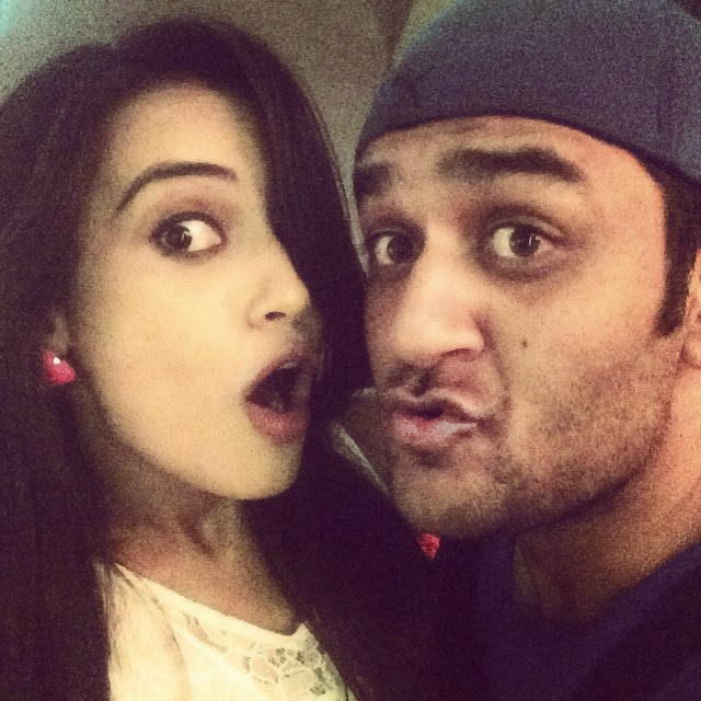 hooooo... i dont know what expression was that...😂😂 @lostboy54, Surbhi Jyoti Hot Pics from Parties, Selfie Images with Krystal Dsouza, Nia Sharma