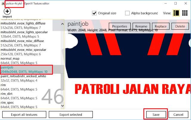 Mod Mobil Polisi Indonesia Lancer Evo Gta 5