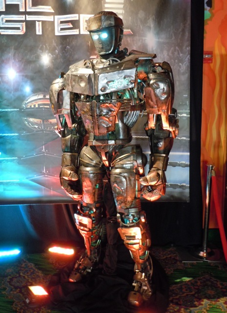 Real Steel Atom G2 robot