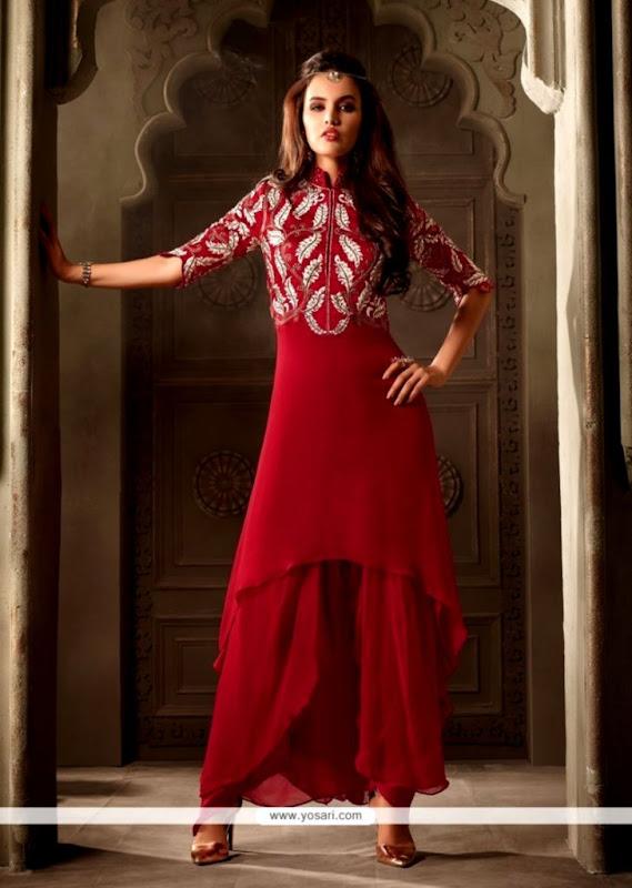 Buy Divine Georgette Punjabi Suit Online New Zealand