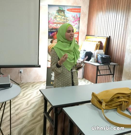 Kelas buat blog sehari bersama ATeam di Shah Alam secara percuma