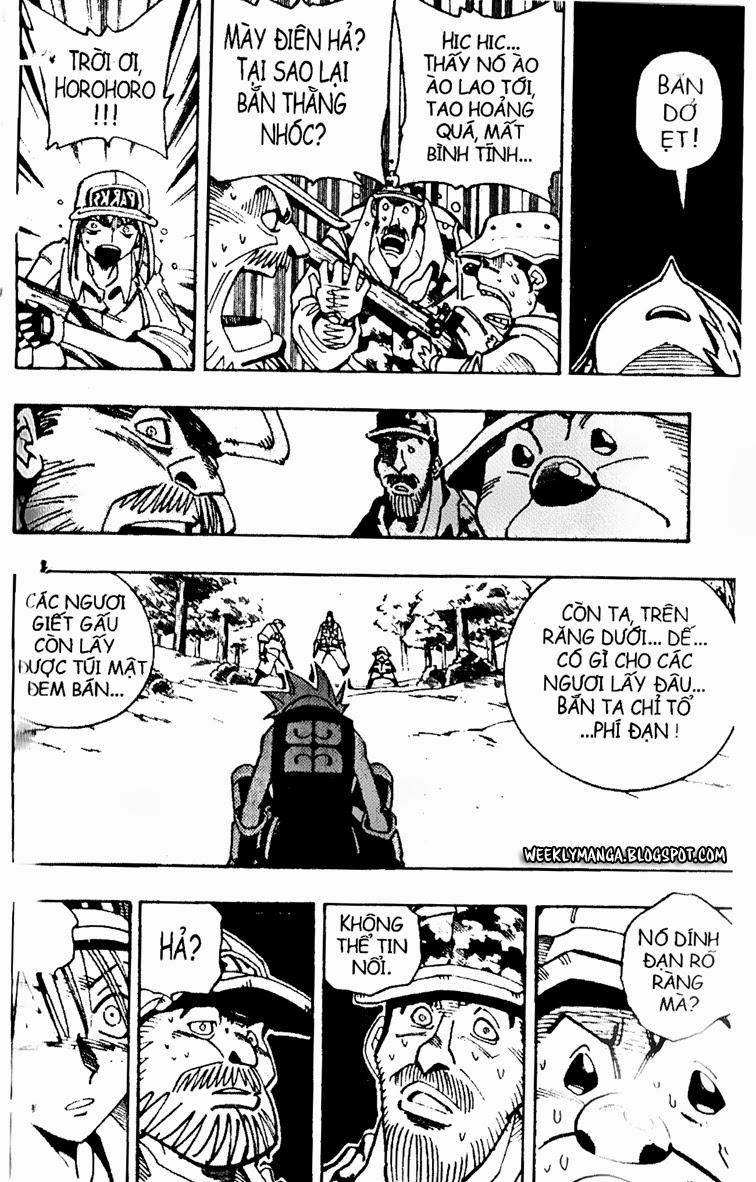 Shaman King [Vua pháp thuật] chap 94 trang 9