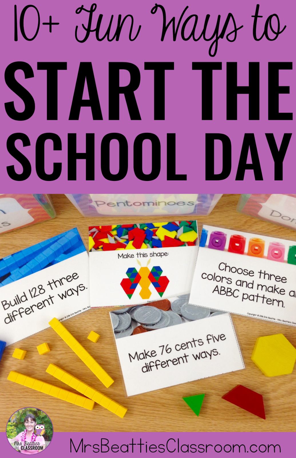 Fun Ways To Start The Day In The Elementary Classroom