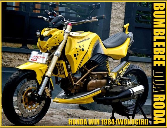 Modifikasi Honda Win Dibacaonline