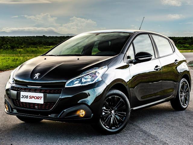 Peugeot 208 - quinto compacto mais vendido do mundo