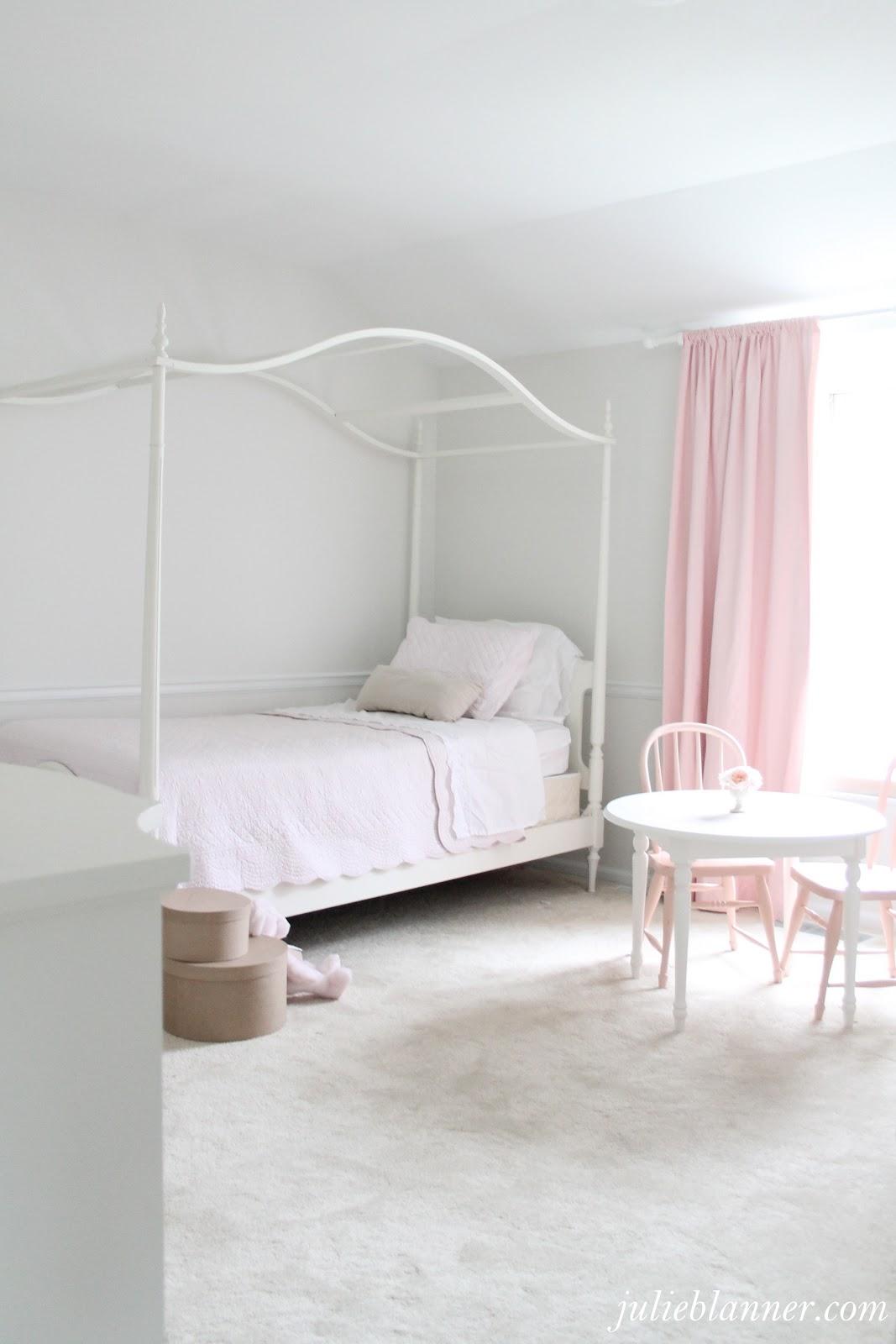 Adalyns Pink and Cream Bedroom  Julie Blanner