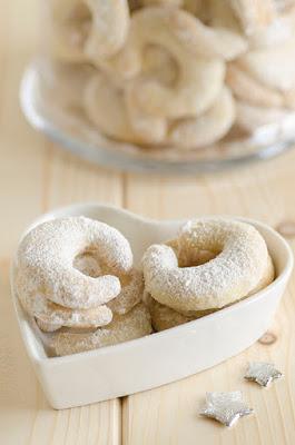 Biscotti alla vaniglia natalizi