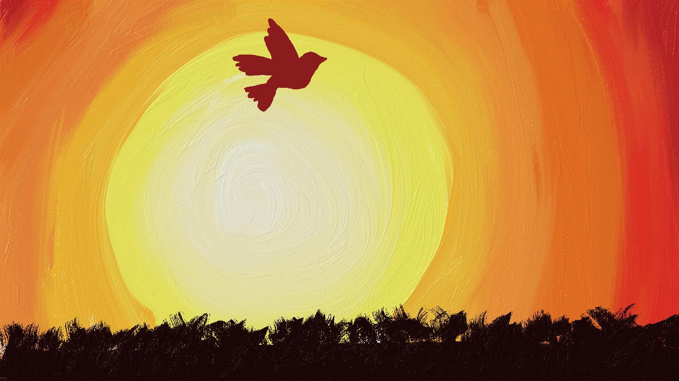 Картинка рассвет для детей, удачной субботы