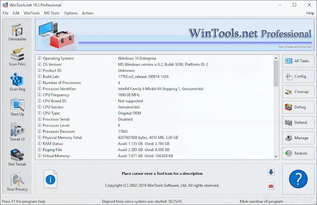 WinTools.net professional registration