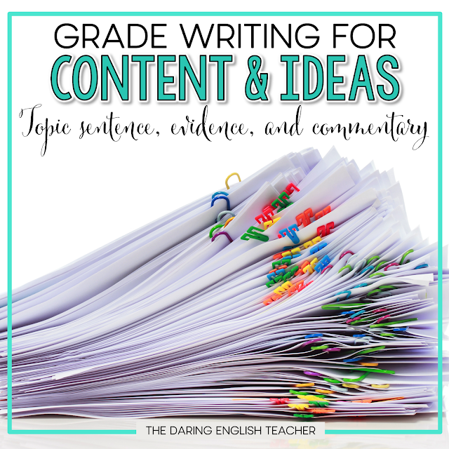Grading Writing: My philosophy to help students become better writers. Secondary ELA. Teaching writing to students.