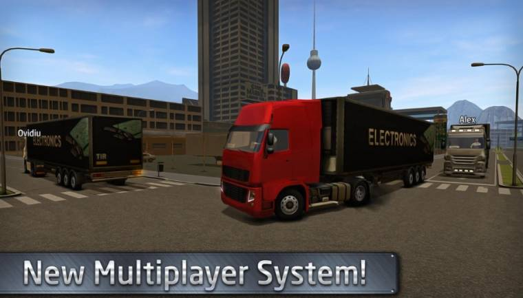 Euro Truck Driver 2018 multiplayer system
