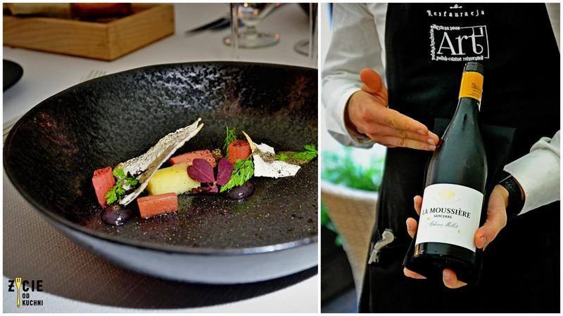 Domaine Alphonse Mellot Sancerre Domaine de la Moussière 2015, polish cuisine, art restauracja, restauracja art krakow, michal cienki, fine dining krakow, najlepsze restauracje w krakowie,  restauracje w krakowie, fine dining, gdzie zjesc w kakowie, blog, zycie od kuchni