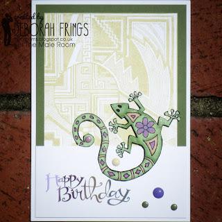 Happy Birthday sq - photo by Deborah Frings - Deborah's Gems
