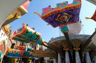 Magic Carpet Ride at Tokyo Disneysea Japan