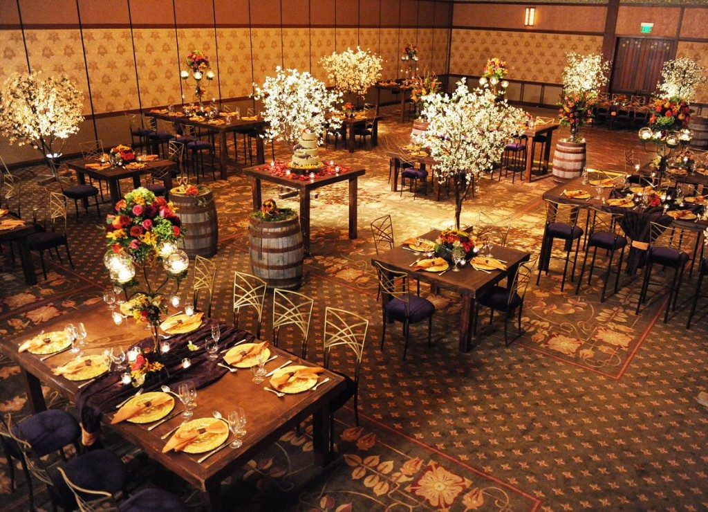 Grand Californian Ballroom Set Up Definitely A Diffe Feel Than The Disneyland Hotel