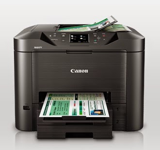 Take wages of fast impress too scan speeds alongside touchscreen Canon MAXIFY MB5370 Printer Driver