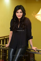 Shruti Haasan Looks Stunning trendy cool in Black relaxed Shirt and Tight Leather Pants ~ .com Exclusive Pics 079.jpg