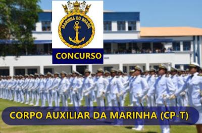 Saiu!! Concurso Público para o Quadro Técnico do Corpo Auxiliar da Marinha (CP-T) 2018