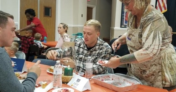 Volunteering For Thanksgiving Dinner Service At St Vincents Soup Kitchen
