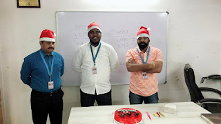 Christmas Celebrations At Honeyy Group