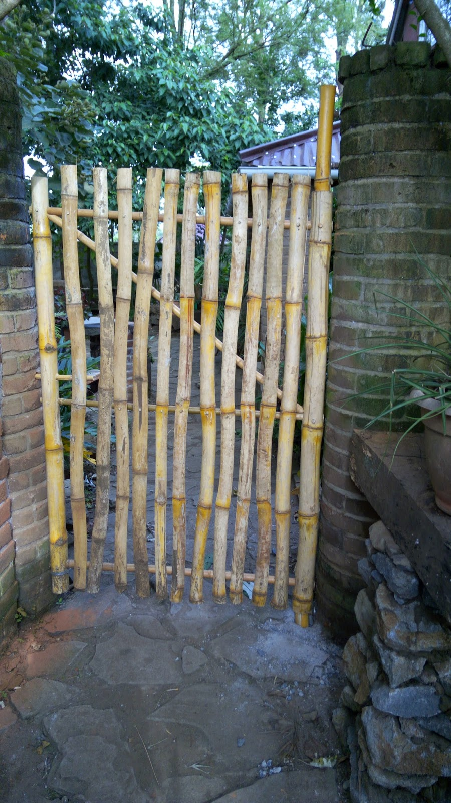 Alternative Building Construction in Tanzania: buidling with Bamboo on home with cedar fence, concrete fences and gates designs, house fence and gate designs, philippines fences and gates designs, wooden gate designs, garden fences and gates designs, modern concrete home designs,