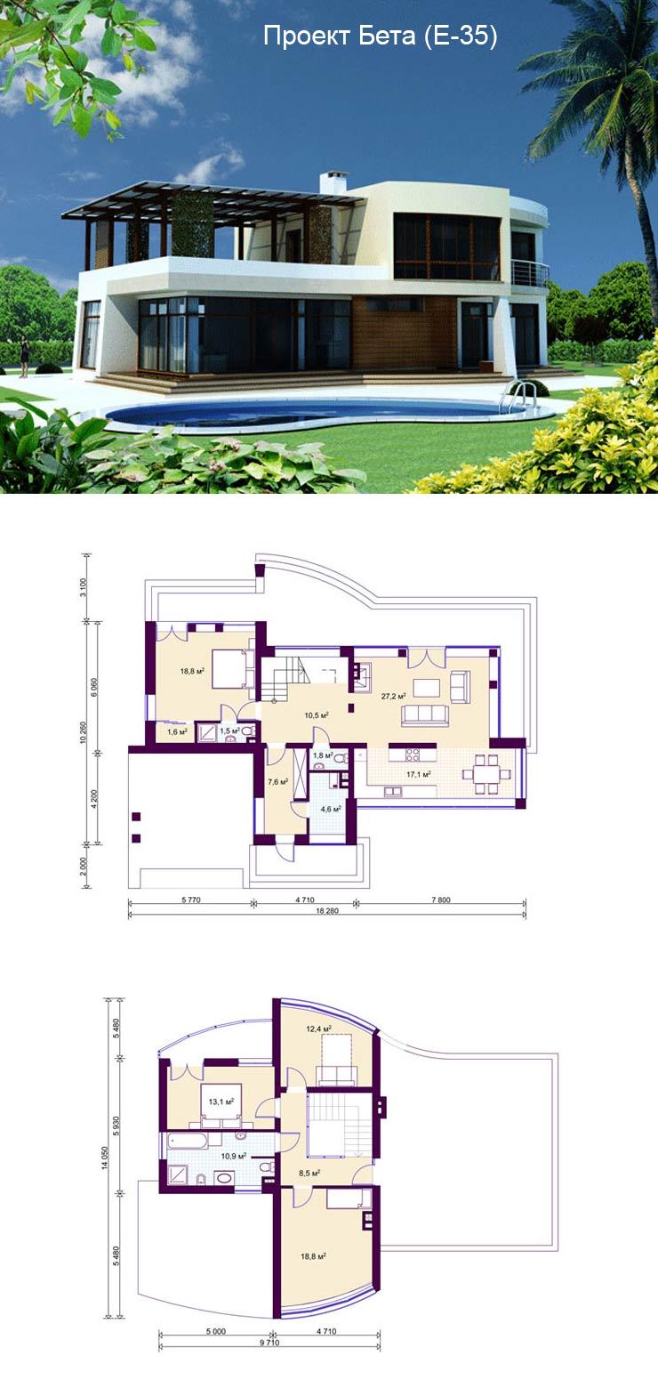 Проект дома м