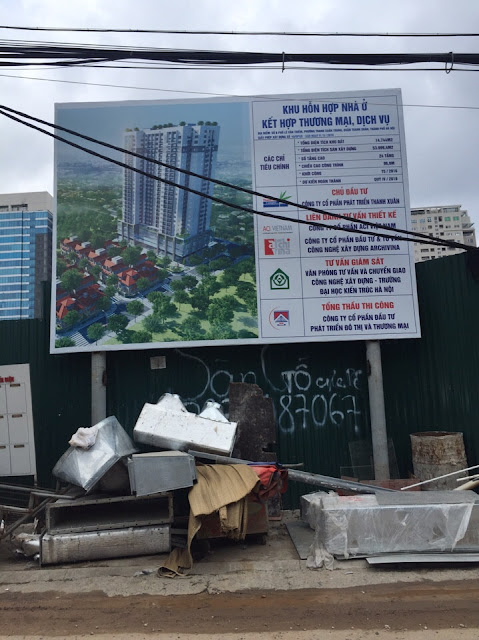 Tiến độ thi công chung cư Thanh Xuân Complex