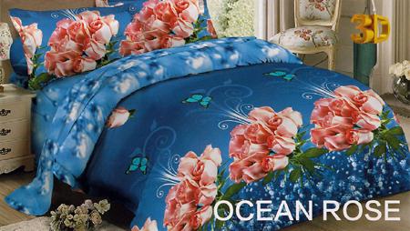 Sprei Red Rose Ocean Rose
