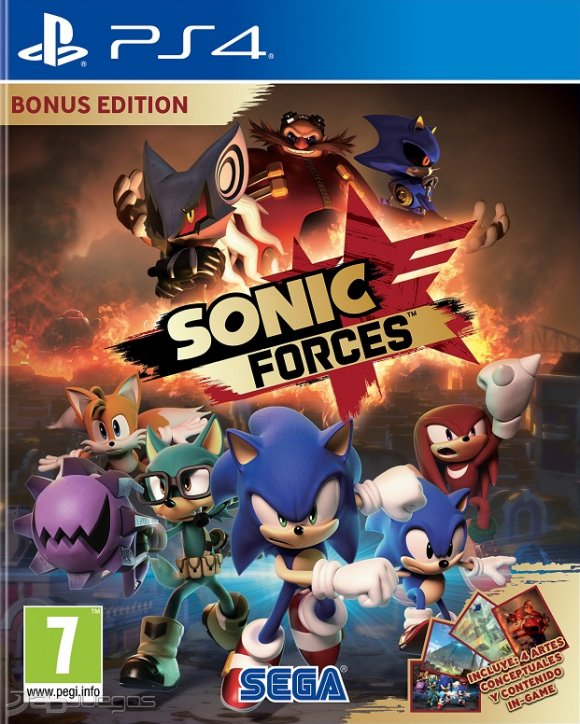 Sonic Forces + Update 1 01 + DLC [PS4] [PKG] [Google Drive