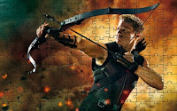 Hawkeye in The Avengers