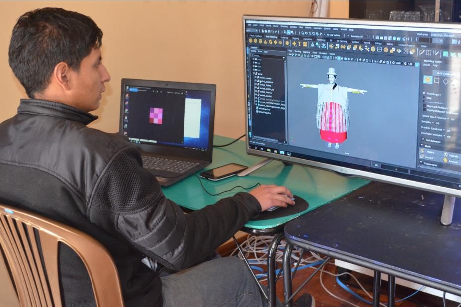 Desarrolladores de Mundo Virtual proyectan crear una serie de personajes tradicionales para la Web / ALBERTO MEDRANO