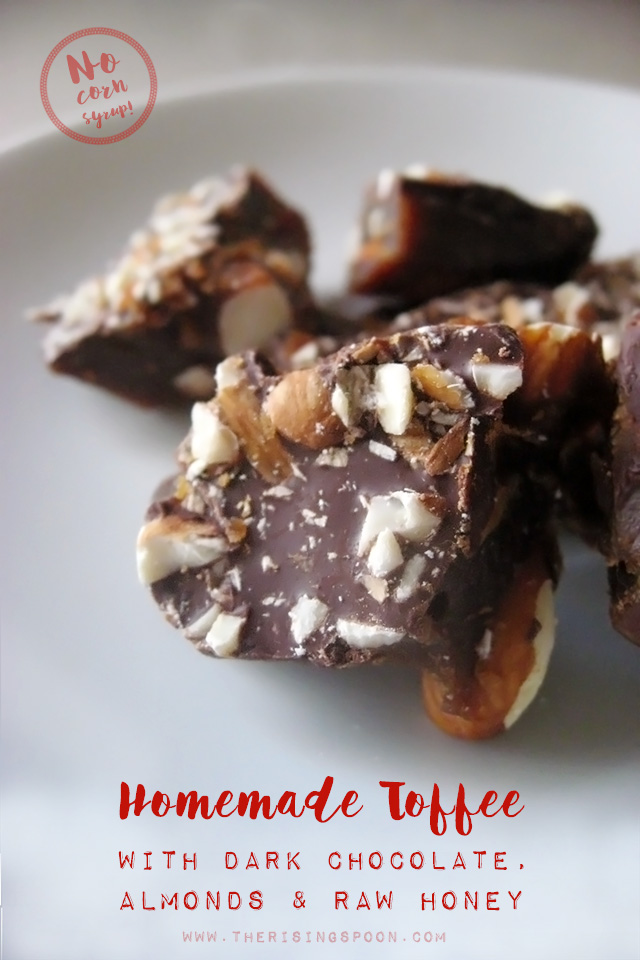 DIY Christmas Gift Idea: Homemade Toffee Without Corn Syrup