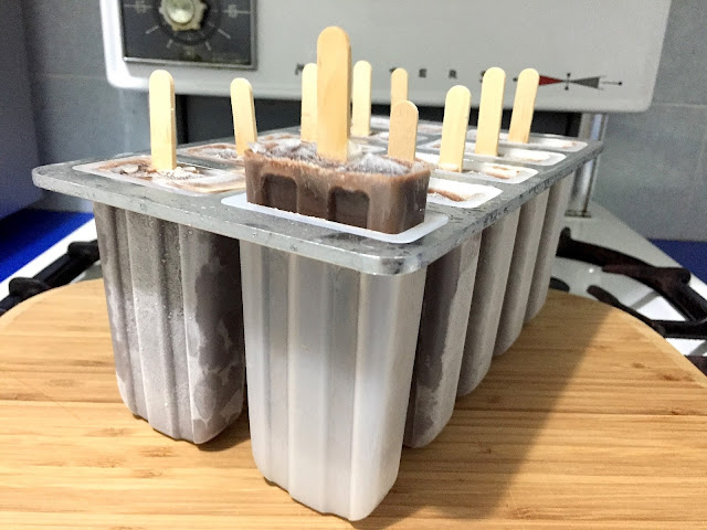 Chocolate Paddle Pop Recipe | salt sugar and i