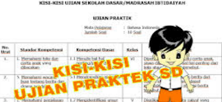 Geveducation: Kisi Kisi Ujian Praktek SD 2019