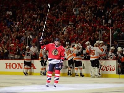 Marian Hossa of Blackhawks out Friday with injury
