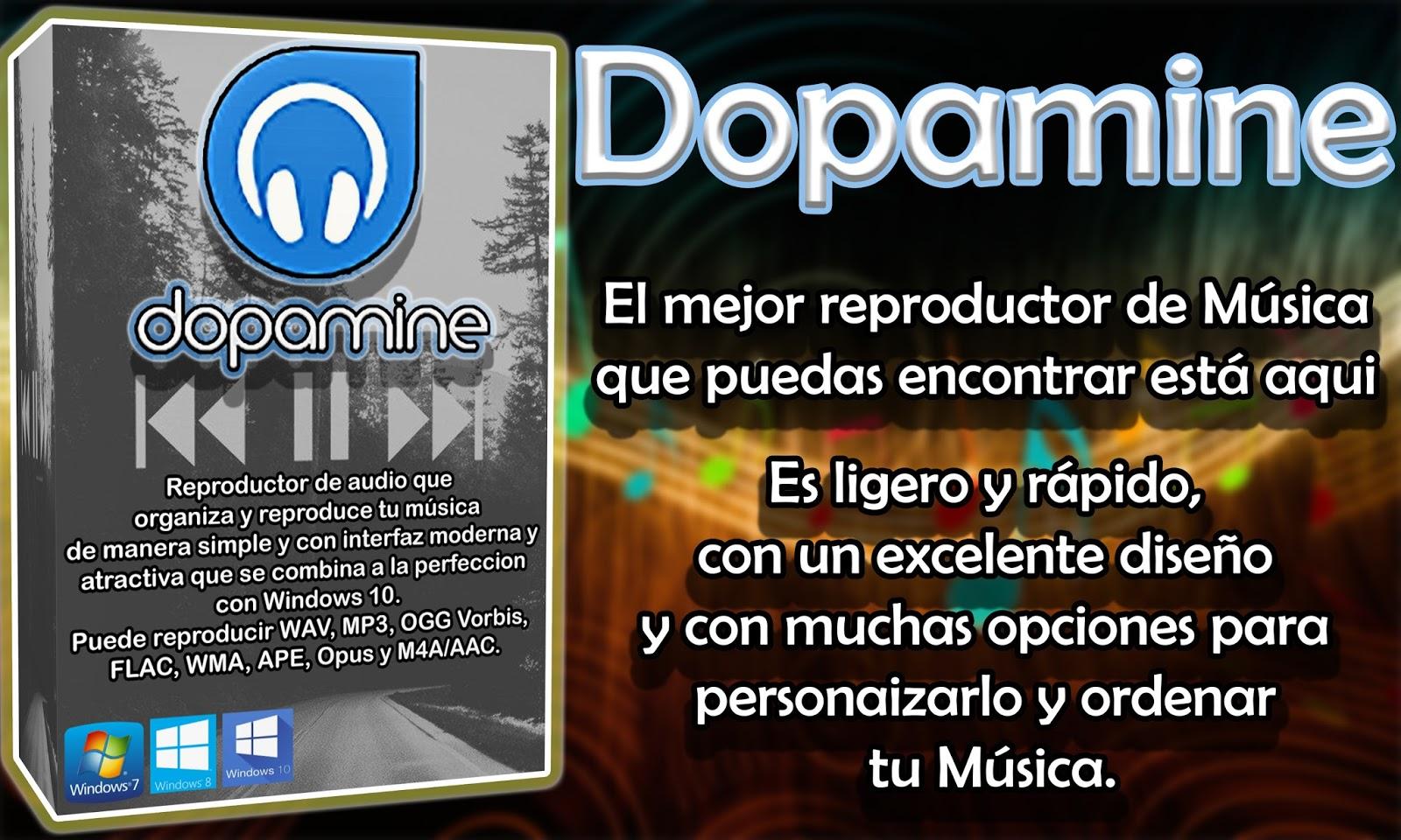 Dopamine Player | Programas y Utilidades PC