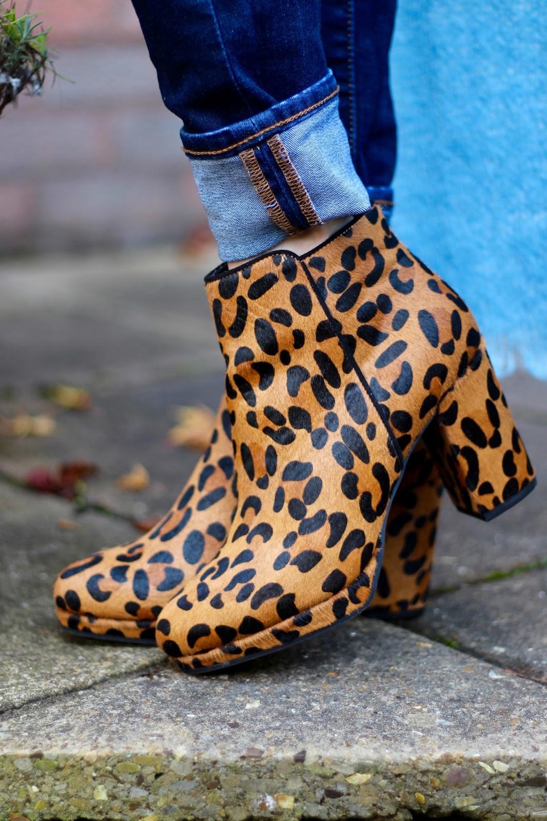 Levis Jeans, Miss KG leopard boots | Fake Fabulous