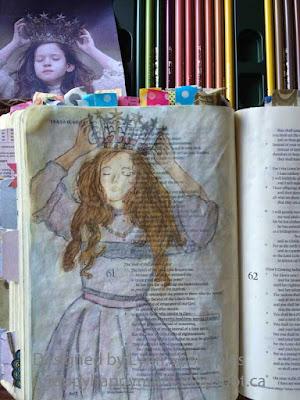 Isaiah Bible Journal Page by Lynn Shokoples