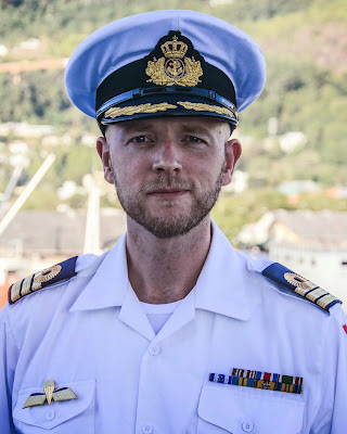 Portrætfoto af Thorbjørn Hein, officer