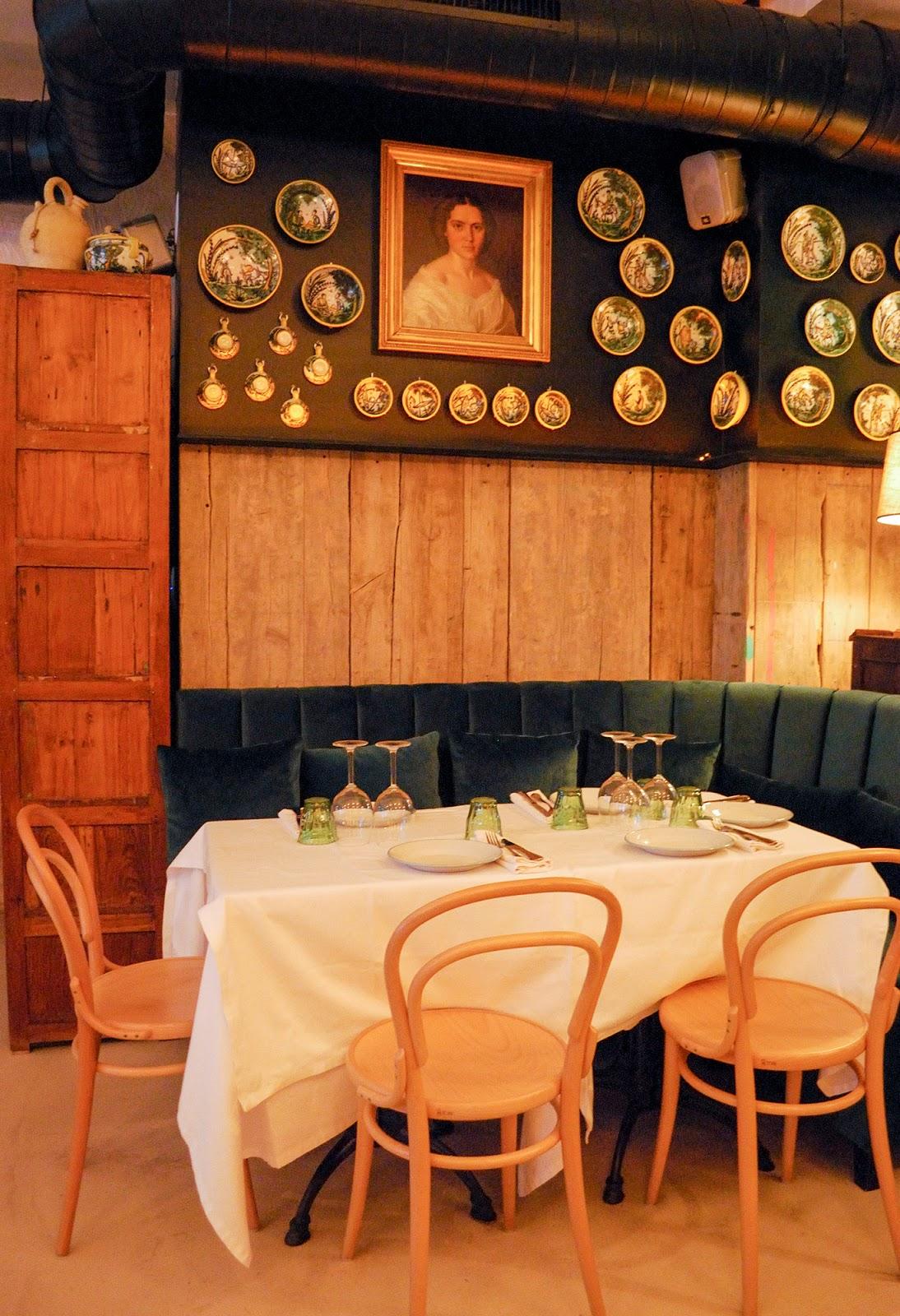 restaurant casa galleta retiro madrid