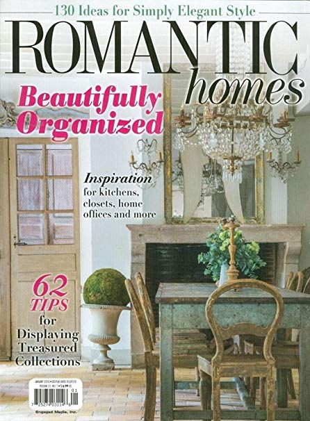 Featured in the January 2018 issue of Romantic Homes Magazine