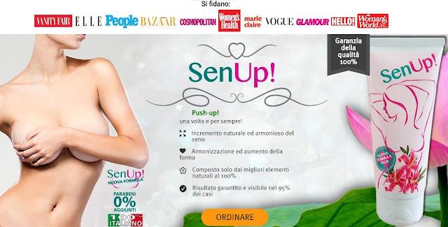crema senup: promozione e sconto online