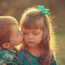 Top latest hd Baby Boy to Girl frist kiss images photos pic wallpaper free download
