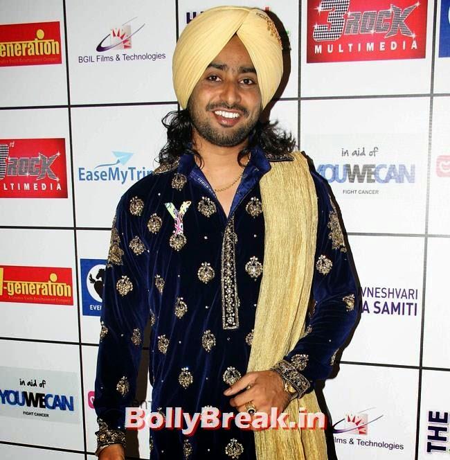 Sartaj Singh, Bhajji, Yuvi, Geeta Basra at Mehfil e Sartaj by YuWeCan