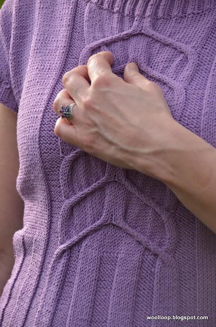 bluzka na drutach Nako Comfort Stretch
