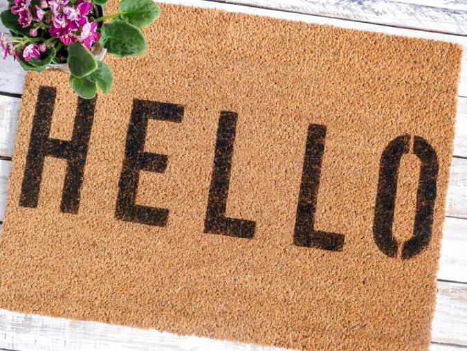 Heidi Swapp DIY Doormat Ideas by Jamie Pate