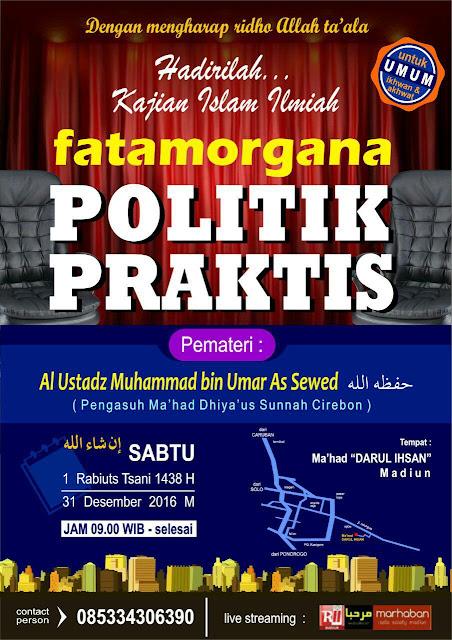 FATAMORGANA POLITIK PRAKTIS