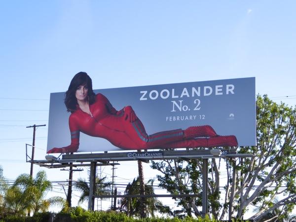 Penelope Cruz Zoolander 2 Valentina billboard
