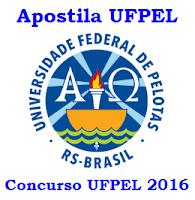 Apostilas Universidade Federal de Pelotas - concurso UFPel - RS